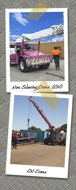 Non Slewing Cranes Course