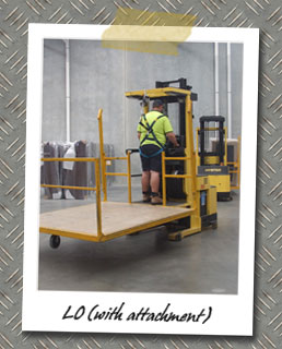 LO Forklift Course - With attachment