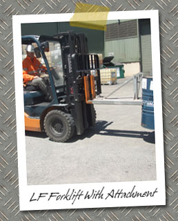 LF Forklift Course - With attachment