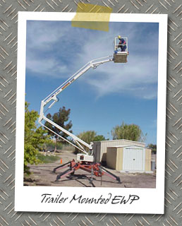 Training on Trailer Mounted EWP