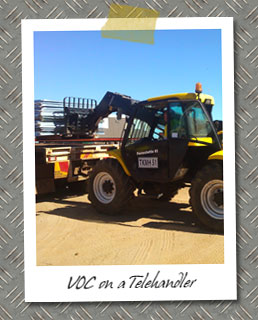 Verification of Competency on a Telehandler