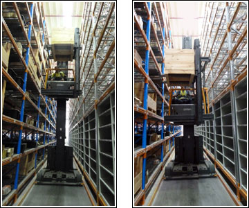 Order Picking Forklift Truck