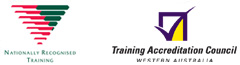 Nationally Recognized Training & Training Accreditation Council Logos